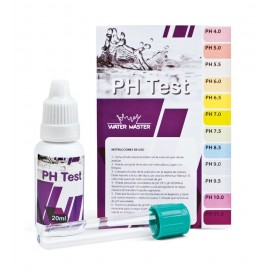 Kit test ph gotas water master