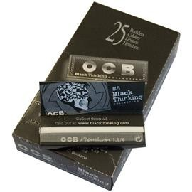 Papel ocb premium black thinking