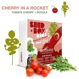 Cherry in a rocket (seed box)