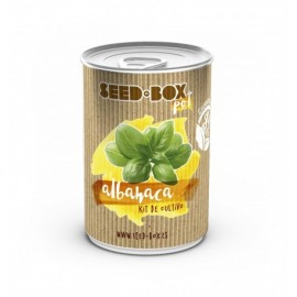 Pot albahaca (seed box)