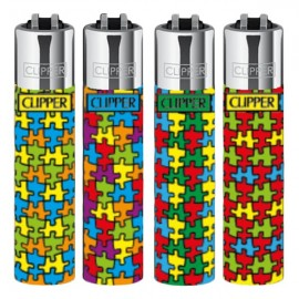 Mechero cliper puzzle